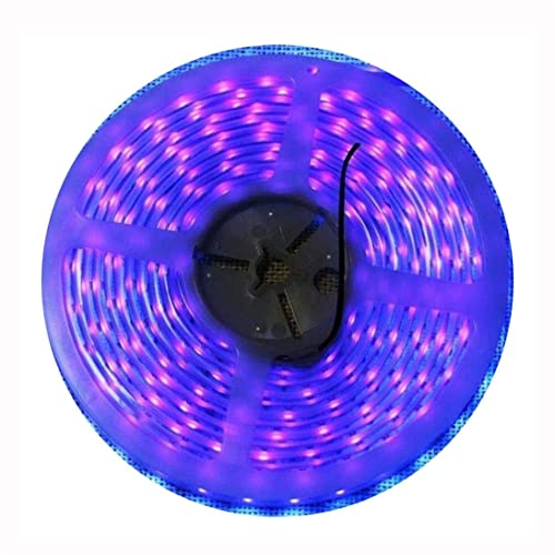 AMARS IP67 Waterproof 5M/16.4ft 3528 SMD 395nm 405nm LED UV/Ultraviolet