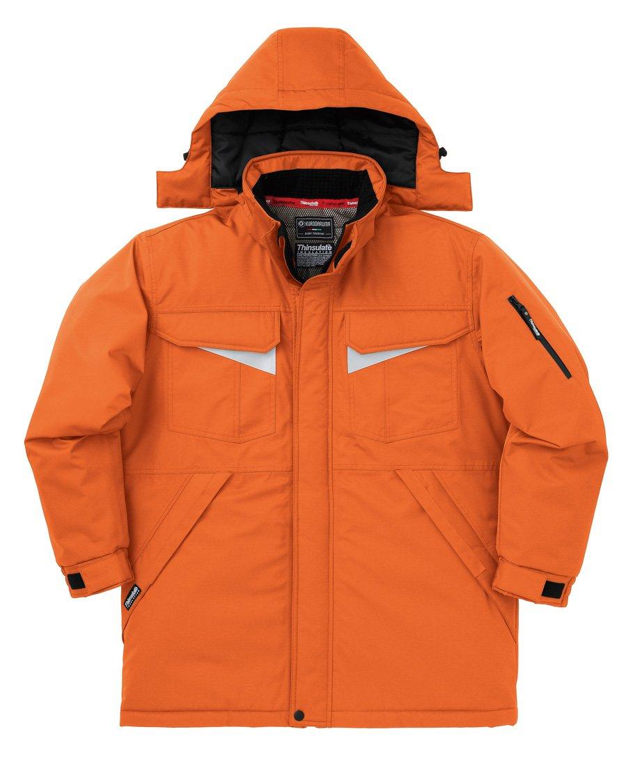KURODARUMA クロダルマ) 防水防寒 耐水圧 10,000mm 透湿性 4,000g//24h コート B00ORIMJKU M|28:オレンジ