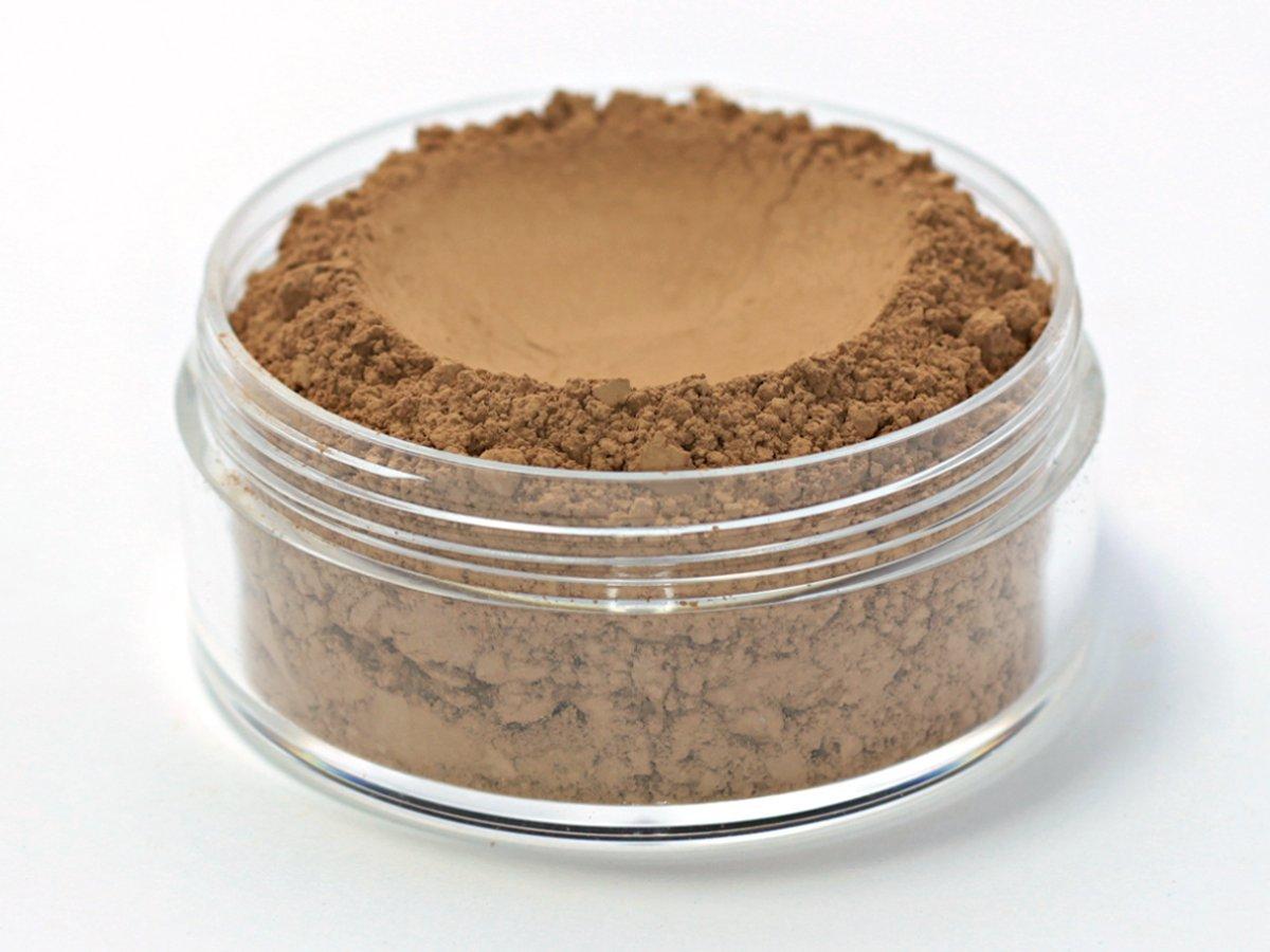 Vegan Mineral Wonder Powder Foundation - Shade ''Cinnamon'' medium/dark with pink undertone