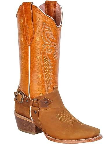 6cd308635e8 Amazon.com | El General Boots Women's Mod.375 Brown Classic Cowboy ...