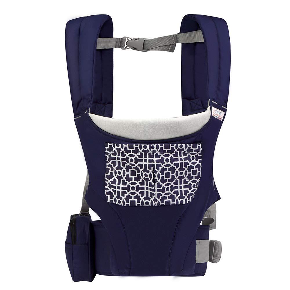 LYZL Baby-Tragetuch Baby-Tragetuch (0-3 Jahre alt) vorne Baby-Tragetasche Vier Jahreszeiten,Blau