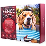 Electric Dog Fence - Invisible Perimeter Fence Prevents Pets Escaping - Underground System is Easy to Set Up & Maintain - Suitable for Dogs Big or Medium - Superb Follow-Up Support