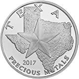 #2: 2017 - Texas Silver Round 39mm Brilliant Uncirculated