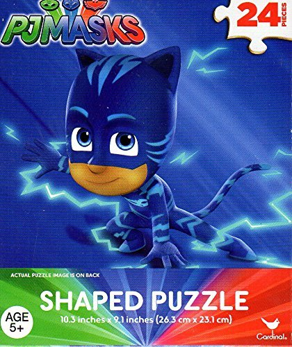 PJ Masks (CATBOY) Boys 24 Piece Totem Pole Shaped Kids Jigsaw Puzzle Disney Hero