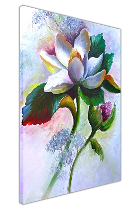 Spring white lily flower oil painting re print on framed canvas spring white lily flower oil painting re print on framed canvas prints wall art pictures mightylinksfo