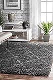 Cheap nuLOOM 200OZEZ04B-8010 Shanna Shaggy Area Rug, 7′ 10″ x 10′ , Grey