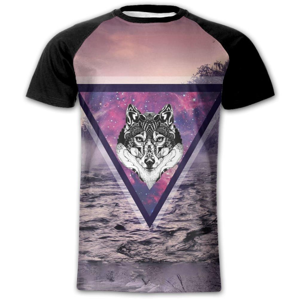 Galaxy Wolf Man 3d Print T Shirt Tee Shirts Youth Plus Tops Amazon