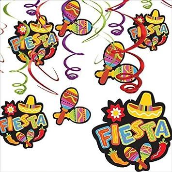 Amazon.com: Amscan Fiesta Cinco de Mayo Maracas &