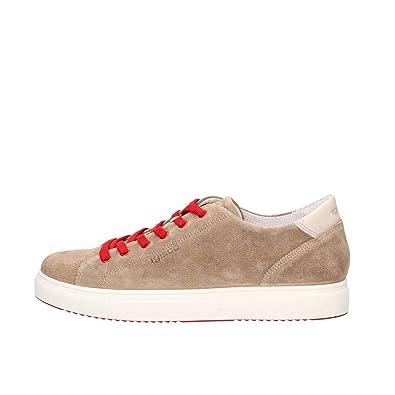new concept d50a4 7a171 Amazon.com | IGI&CO Shoes Men Low Sneakers 3132733 Tortora ...