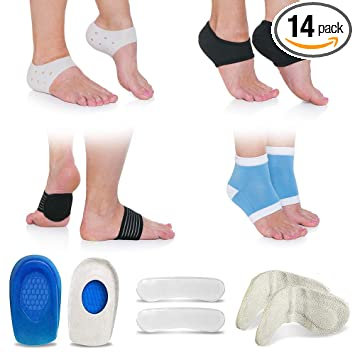 Amazon.com: Fascitis Plantar Sleeve 14 piezas Kit de pie ...