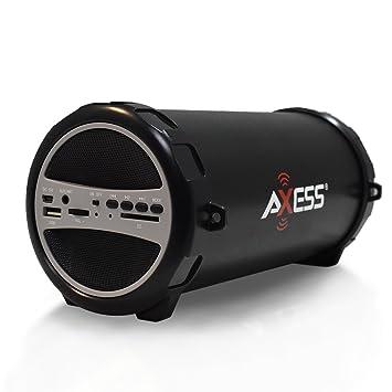 Review AXESS SPBT1031 Portable Bluetooth