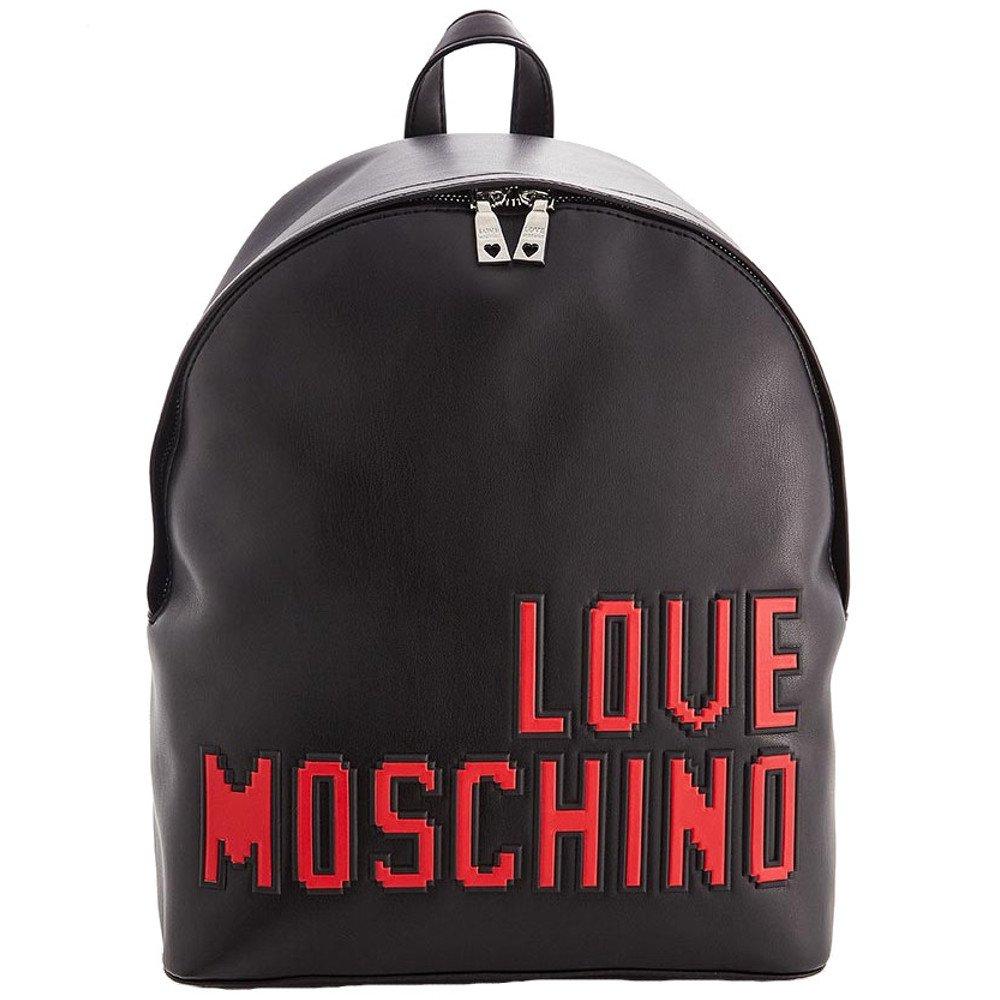 LOVE MOSCHINO Pixel Logo Backpack, Black