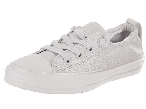 Converse Kids Chuck Taylor All Star Shoreline Slip Pure Platinum/Pure  Platinum Casual Shoe 11
