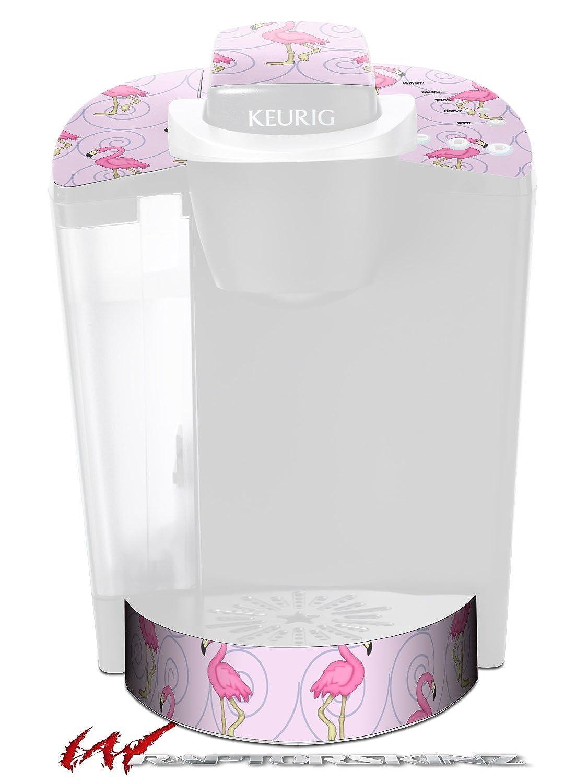 フラミンゴonピンク – デカールスタイルビニールスキンFits Keurig k40 Eliteコーヒーメーカー( Keurig Not Included )   B017AKGYRK