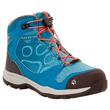 Botas de trekking Jack Wolfskin para niños, niña, icy lake blue, 36