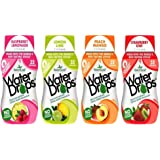 SweetLeaf Water Drops Stevia Water Enhancer 4 Flavor Variety Bundle, 1 Ea: Raspberry Lemonade, Lemon Lime, Peach Mango, Strawberry Kiwi: