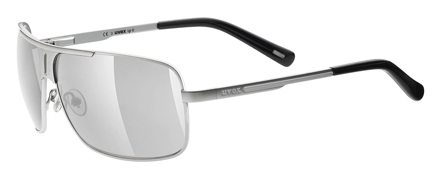 uvex Reithelme uvex Sonnenbrille lgl 6, one size, silver