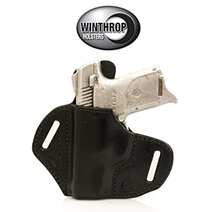 0626 - Ruger SR9C OWB Shield Holster Left Hand Black
