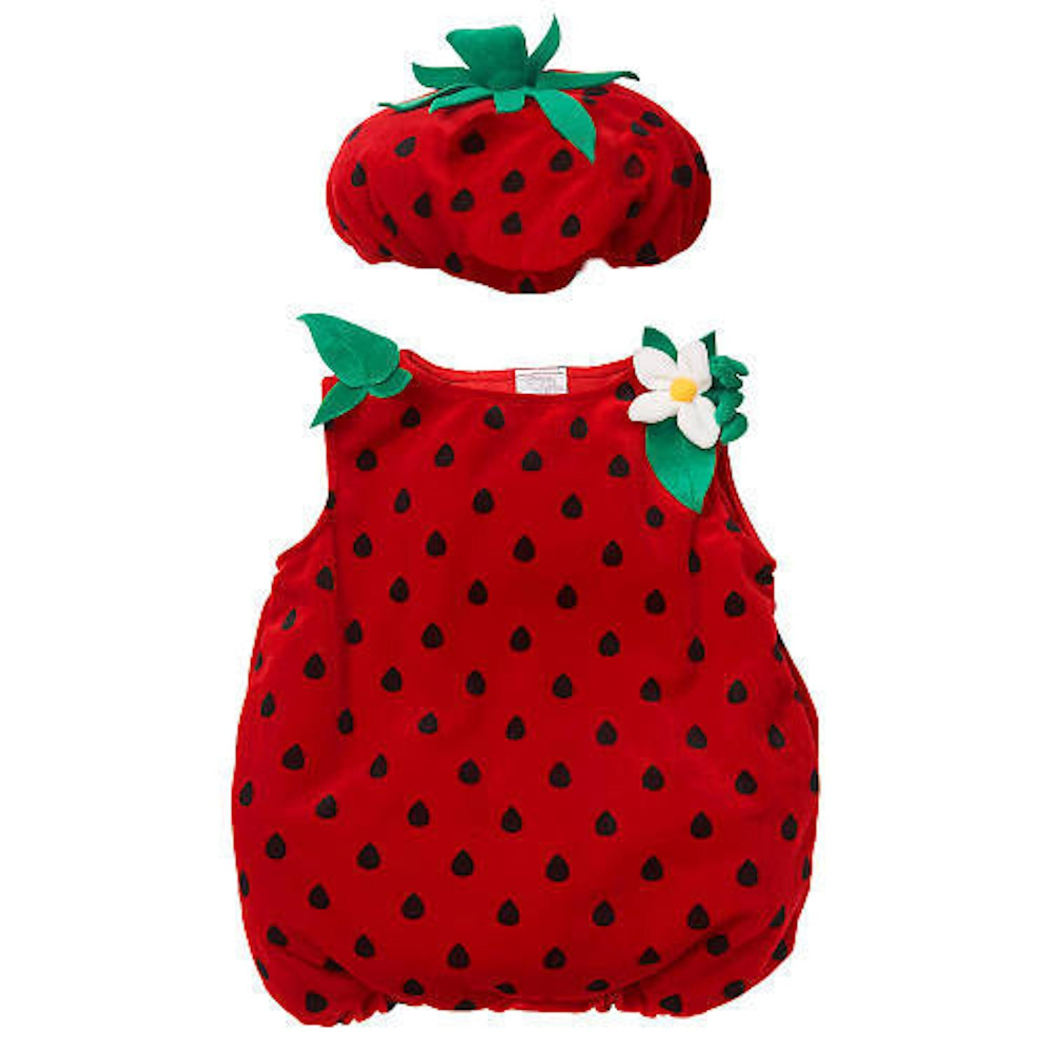 Amazon.com Koala Kids Strawberry Baby Girls 2 Piece Plush Halloween Costume Clothing  sc 1 st  Amazon.com & Amazon.com: Koala Kids Strawberry Baby Girls 2 Piece Plush Halloween ...