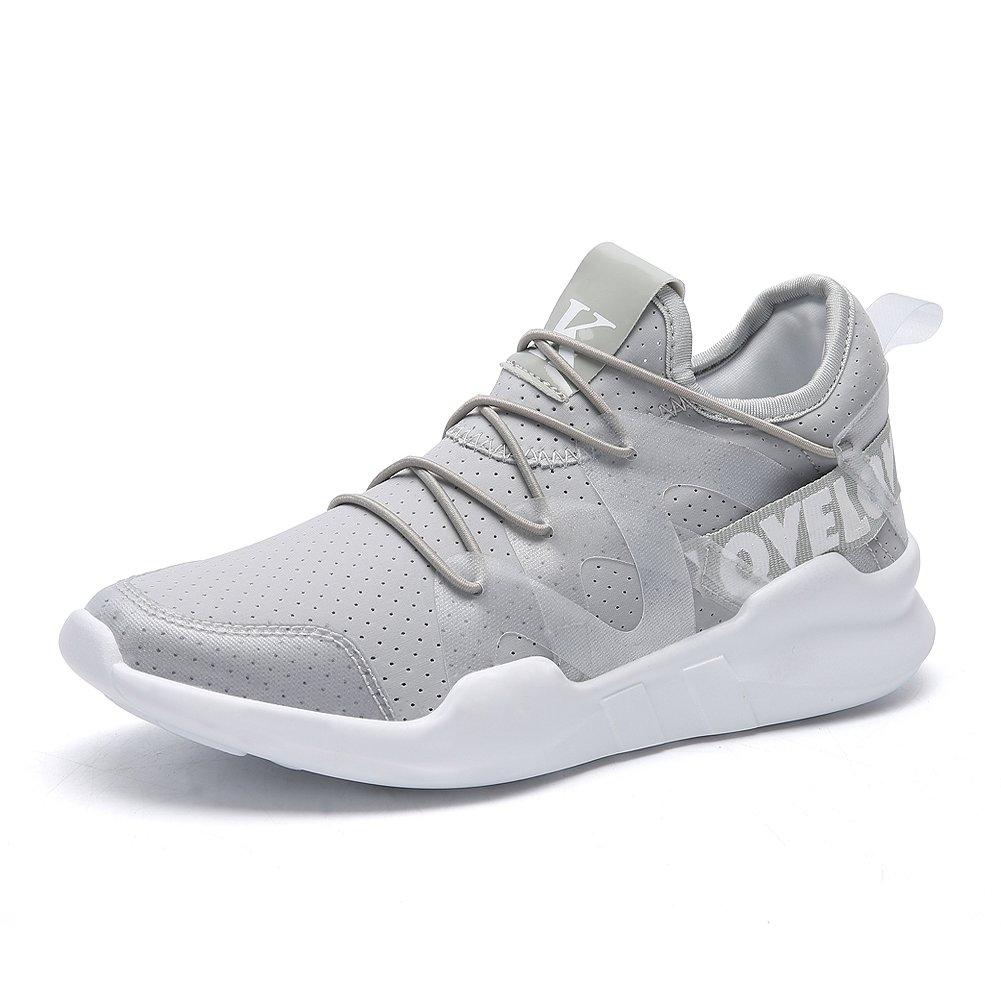 K. Love Sneaker @KathrynShowroom - Unisex, Misty Grey ,5.5 M Women / 3.5 M Big Boy US / EU 36
