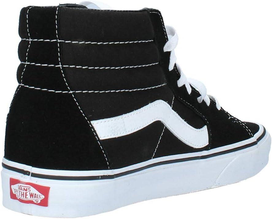 Vans I Old Skool Low-Top Sneakers, uniseks, rubberzool, zwart, medium gum, 36 EU zwart zwart