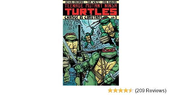 Amazon Teenage Mutant Ninja Turtles Vol 1 Change Is Constant EBook Kevin Eastman Tom Waltz Dan Duncan Ronda Pattison Robbie Robbins Kindle