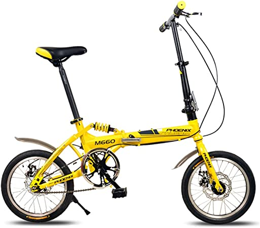XQ F514 16 Pulgadas Bicicleta Plegable De Adultos De Una Sola ...