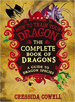 how to train your dragon book series back covers