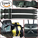 2pcs Two Add a Bag Luggage Strap Travel Luggage Suitcase Adjustable belt Travel Accessories Travel Attachment - Connect your 3 luggages
