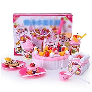 Beau PANDA SUPERSTORE Emulate Kidsu0027 Play Birthday Fruits Cakes Kitchen Funny Childrenu0027s  Toy Kitchen