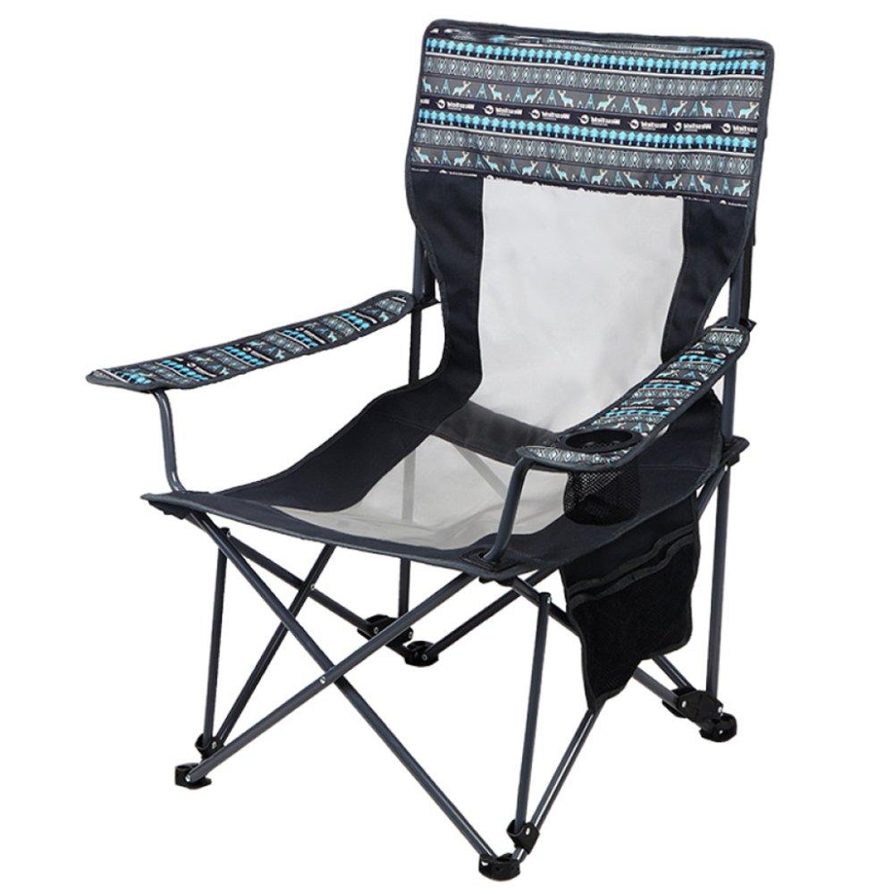 YUJIE Freizeit Im Freien Klappstuhl Abnehmbar Multifunktional Liege mit Getränkehalter Geeignet Für Camping Strand Urlaub