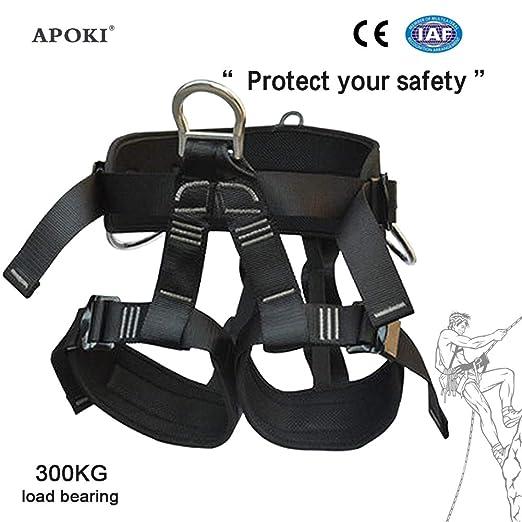 Cuerda de Seguridad contra caídas,Kit de arnés de Medio Cuerpo ...