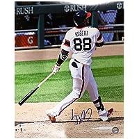 $169 » Luis Robert Autographed Chicago White Sox 16x20 Photo - BAS COA (White Jersey)