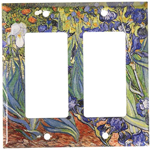 Art Plates - Van Gogh: Irises Switch Plate - Double Rocker ()