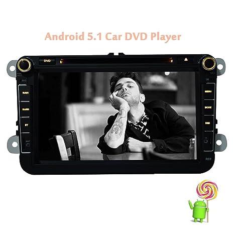 EinCar Android 5.1 Quad Core venta caliente 2 din GPS DVD coche de navegación GPS estéreo