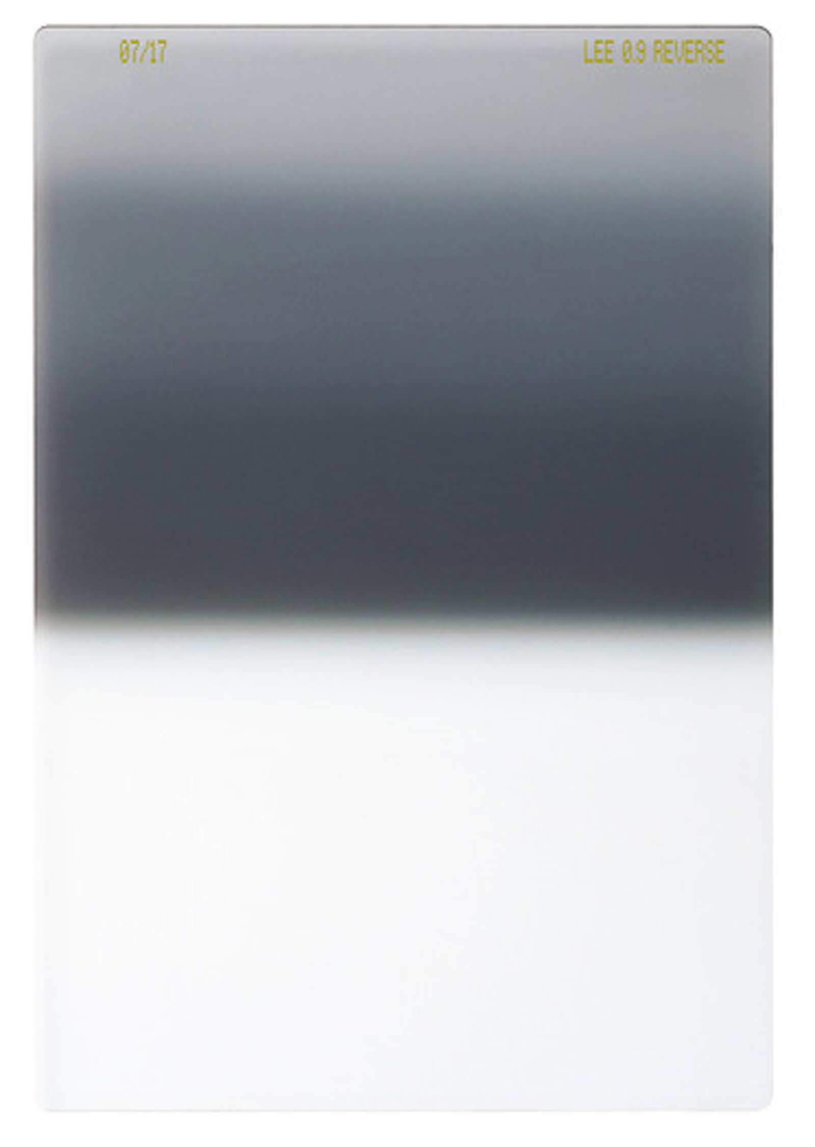 LEE Filters 100mm Reverse Graduated 0.9 Neutral Density 3-Stop Filter Sunset Sunrise Filter 100x150mm by Lee Filters