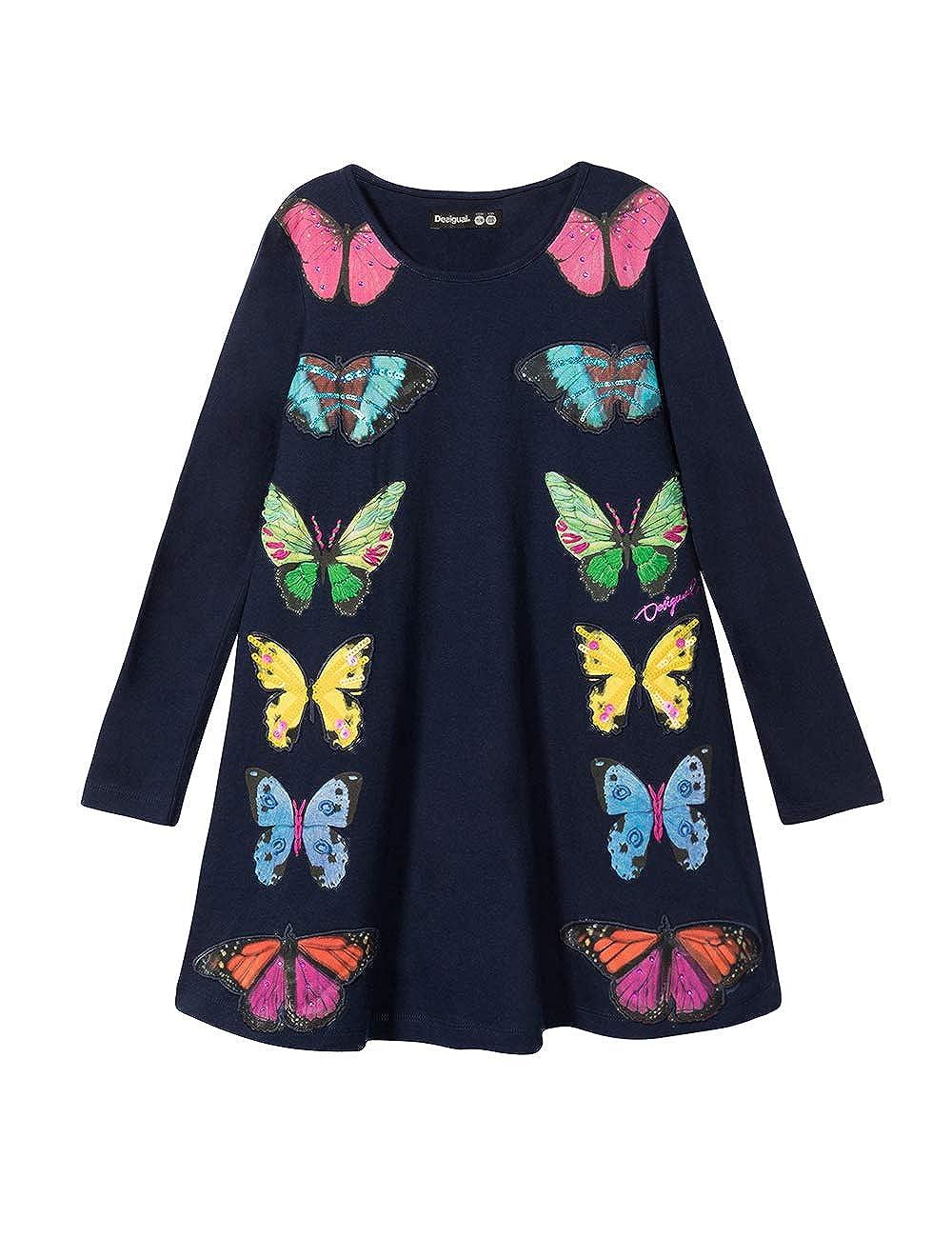 Desigual Dress M/érida Vestito Bambina