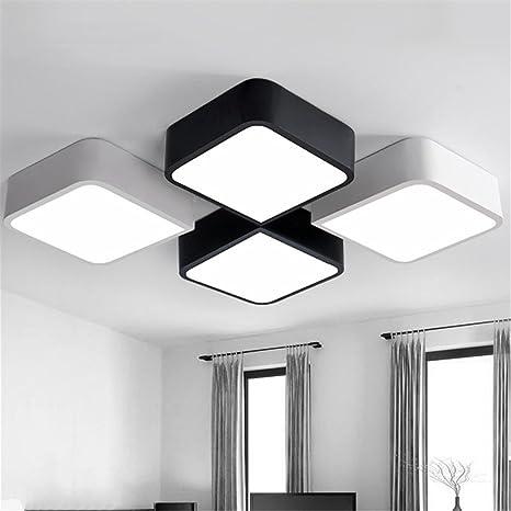 Luz de techo creativo ZSQ lamparas de techo Plafoniere Lampara Techo Dormitorio Salon para el hogar