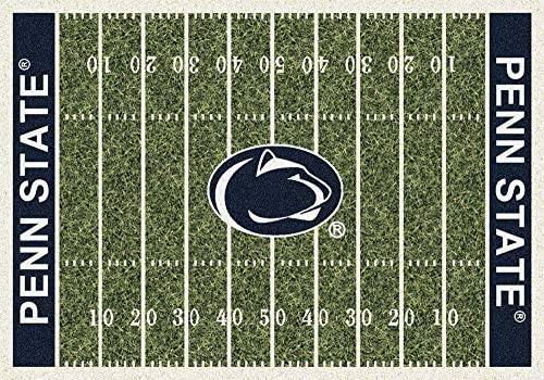 Milliken Penn State College Home Field Area Rug, 10 9 x 13 2 , 01300 Home Field