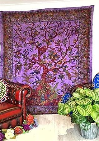 Nueva ganesham indio hecho a mano grande Hippie tapiz ...
