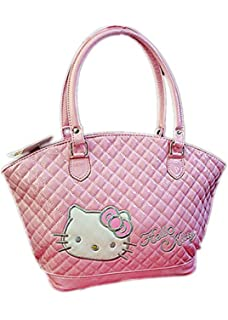 9bd283919c6a New 2 in 1 Hello kitty Handbag Shoulder bag Purse + Small Coin bag ...