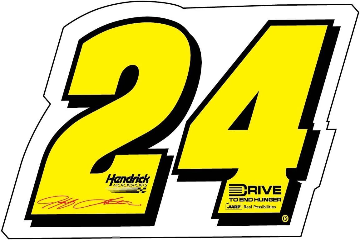 NASCAR #24 JEFF GORDON CAR MAGNET