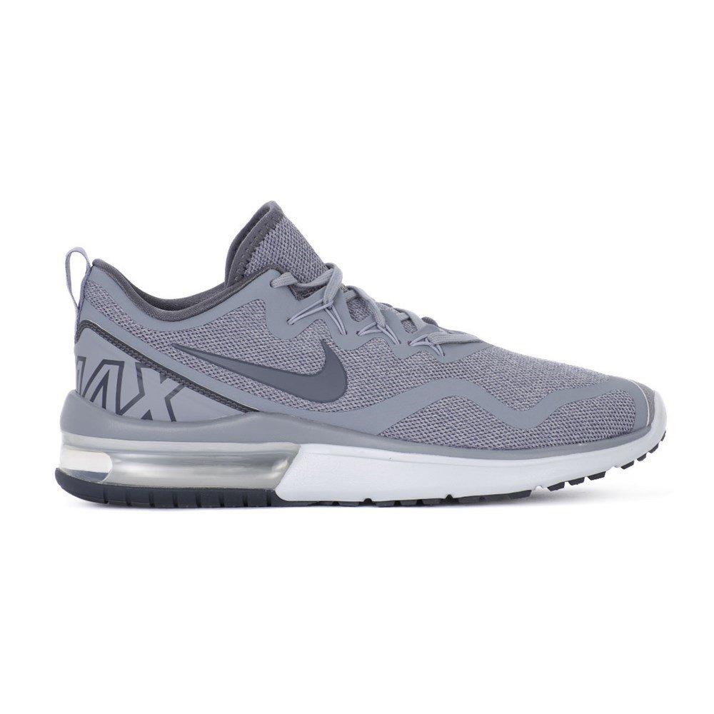 ec97d6986c878 Nike Mens Air Max Fury Low Top Lace Up Running, Pure Platinum/Sai, Size 8.5