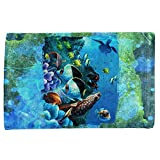 Tropical Reef Splatter All Over Hand Towel Multi Standard One Size