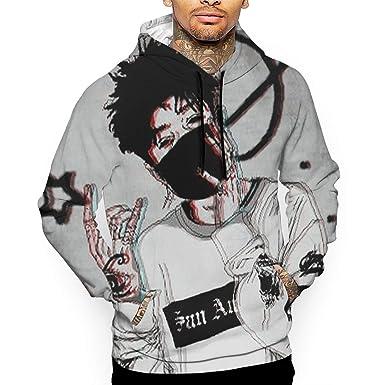 Amazon com: WALAYALA Scarlxrd 3D Printing Hoodie Sweatshirt for Men