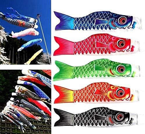 日本のこいのぼり鯉風ソックスアニメ魚旗吹き流し恋ギフト AMINIY