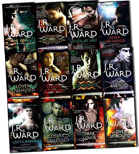 J. R. Ward Black Dagger Brotherhood Series 12 Books Collection Pack Set (Dark Lover, Lover Eternal, Lover Awakened, Lover Revealed, Lover Unbound, Lover Enshrined, Lover Mine, Lover Unleashed, Lover Reborn, Lover Avenged, Lover at Last, The King)