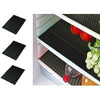 طقم بساط لادراج الثلاجة من كوبر اندستريز، من 6 قطع (13 * 19 انش) لون اسود