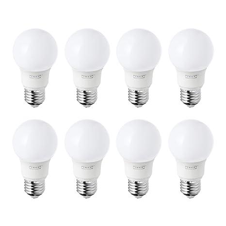 IKEA RYET E27/ES - Bombillas de globo LED de 400 lm, luz blanca
