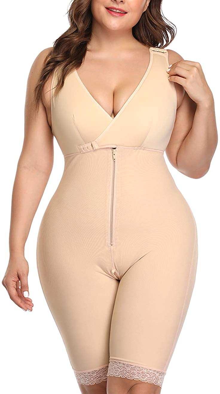 Full Body Shaper Shapewear Bodysuit Slimming Waist Trainer Seamless Shapewear